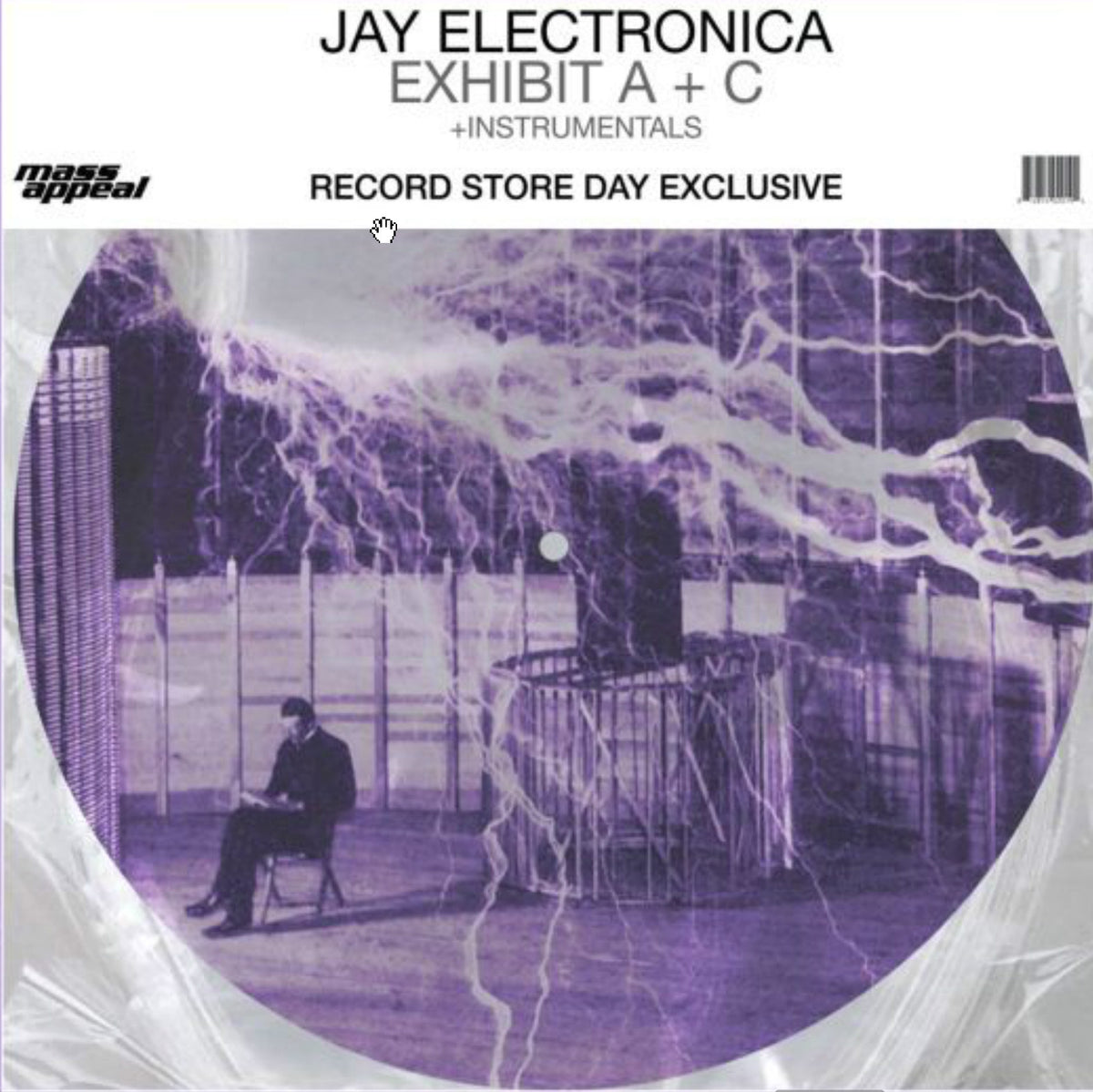 "Jay Electronica: Exhibit A+C Instrumentals (Pic Disc) Vinyl 12"" (Record Store Day)"
