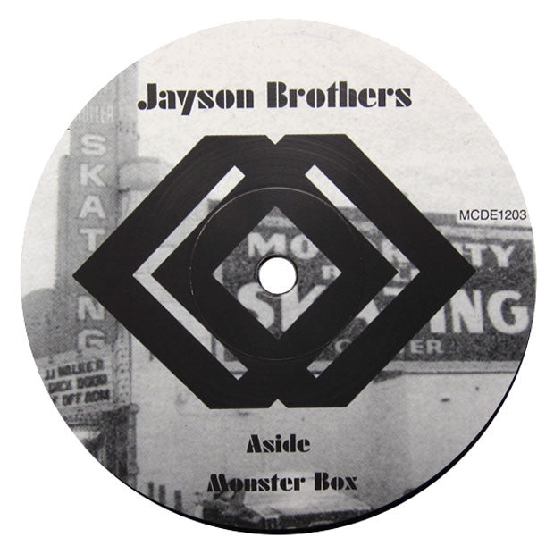 Jayson Brothers: Monster Box / All My Life (Motor City Drum Ensemble) 12""