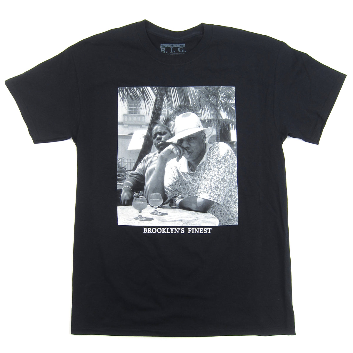Jay-Z & Notorious B.I.G.: Brooklyn's Finest Shirt - Black