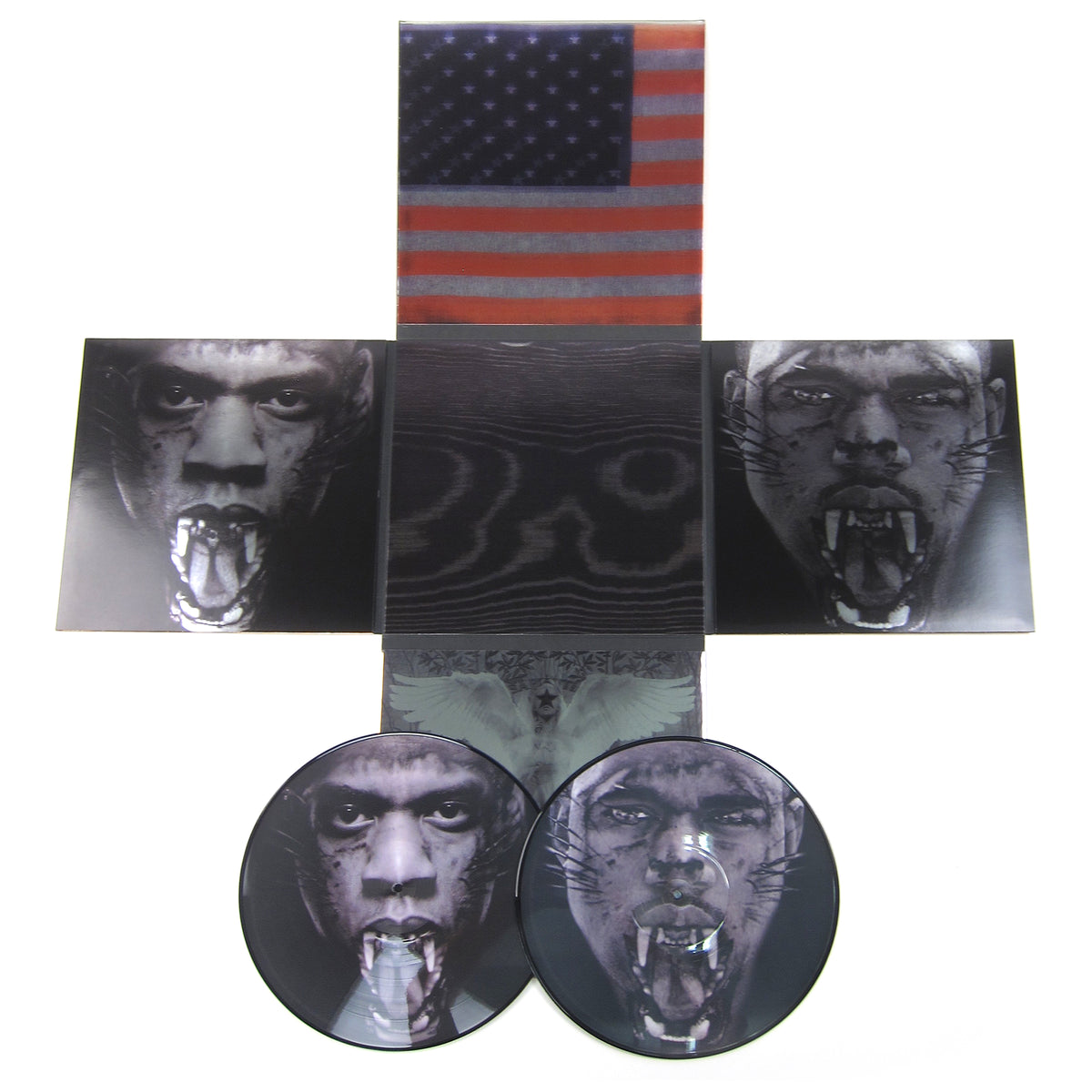 Kanye West & Jay-Z: Watch The Throne (Picture Disc) Vinyl 2LP