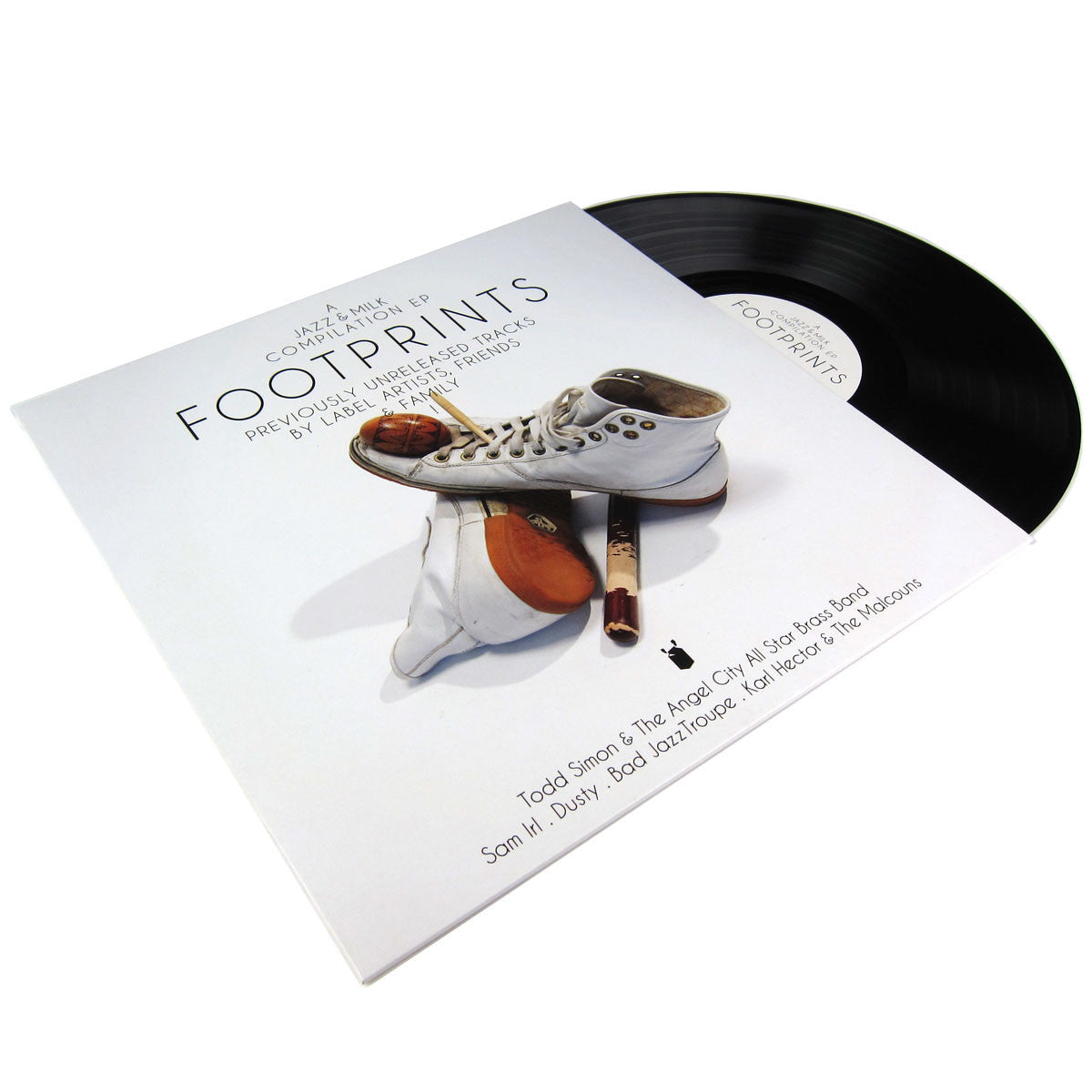 Jazz & Milk: Footprints EP Vinyl 12""