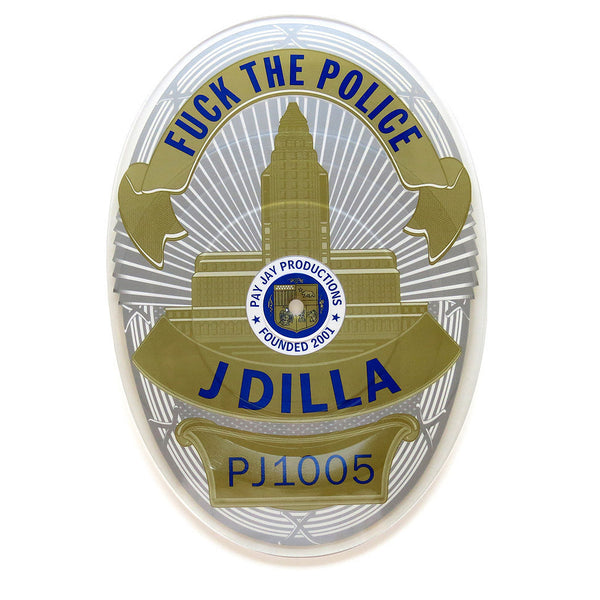 "J Dilla: Fuck The Police Badge-Shaped Vinyl 7"" (Record Store Day)"