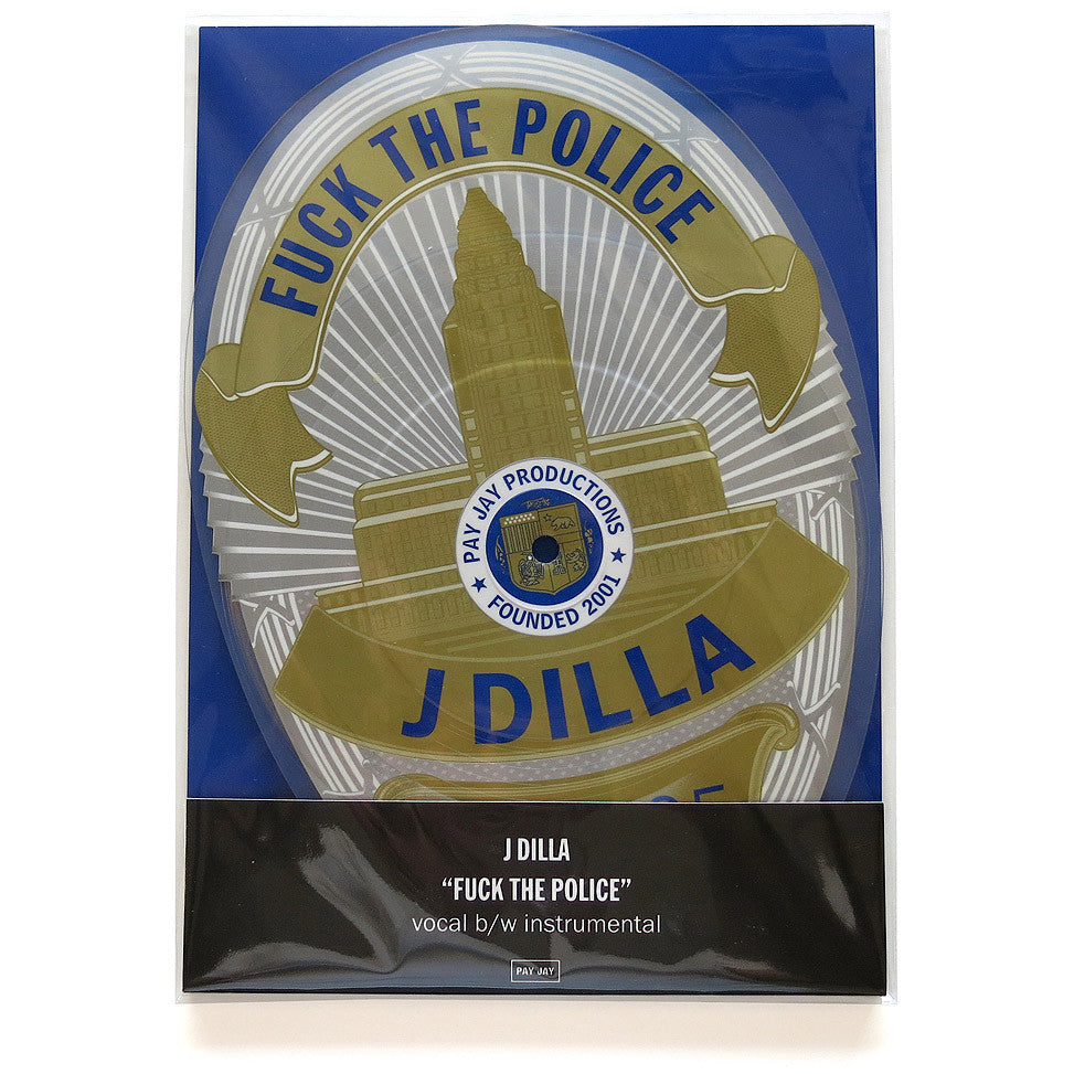 J Dilla: F The Police Badge-Shaped Vinyl 7""