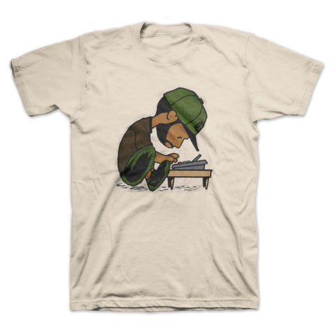 Okayplayer: J Dilla Maestro Shirt - Tan