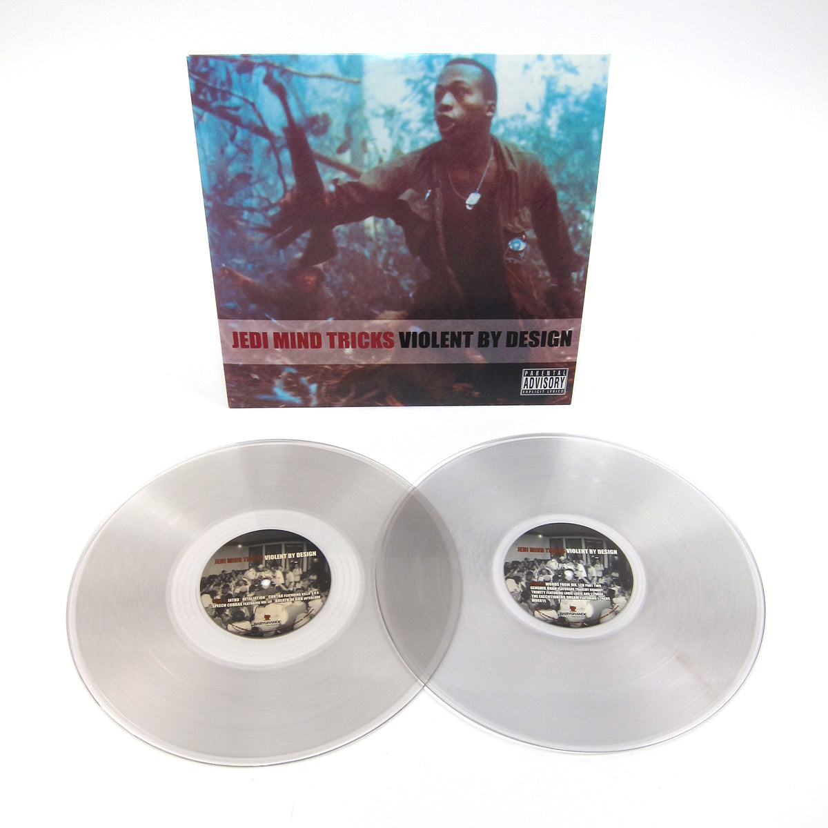 Jedi Mind Tricks: Violent By Design (Colored Vinyl) Vinyl 2LP
