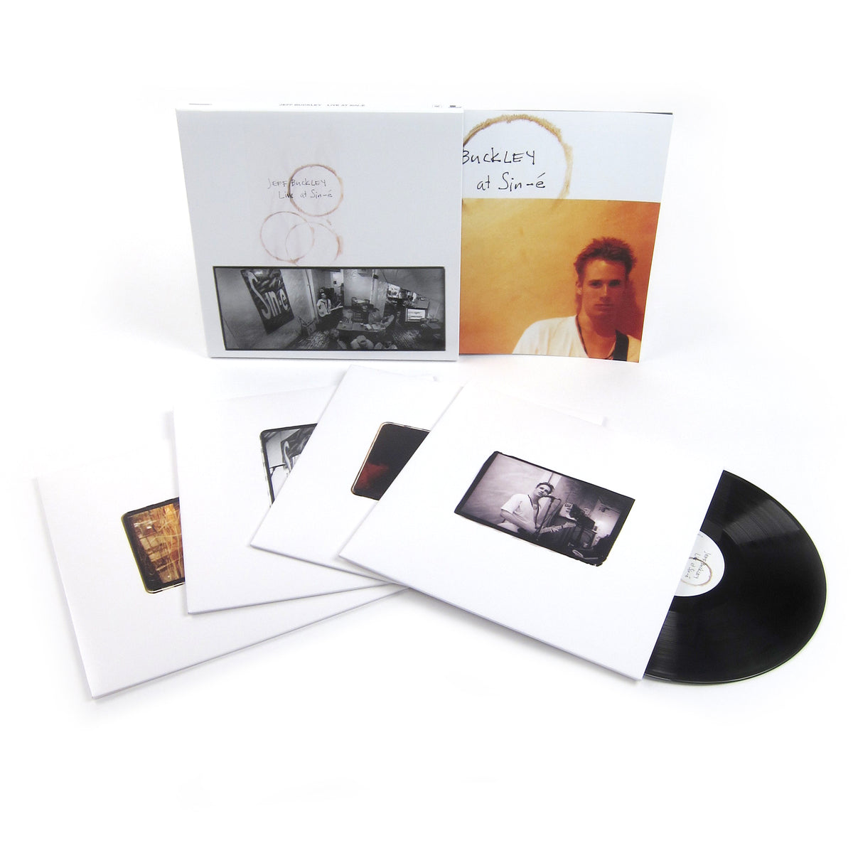 Jeff Buckley: Live At Sin-e Legacy Edition Vinyl 4LP (Record Store Day)