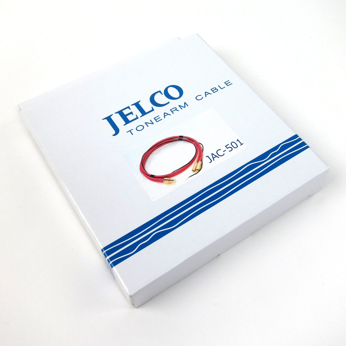 Jelco: JAC-501 Straight Type 5p Connector Phono Cable (Made In Japan)