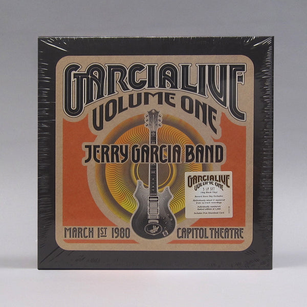 Jerry Garcia Band: GarciaLive Volume One - March 1st, 1980 Capitol Theatre Vinyl 5LP Boxset (Record Store Day)