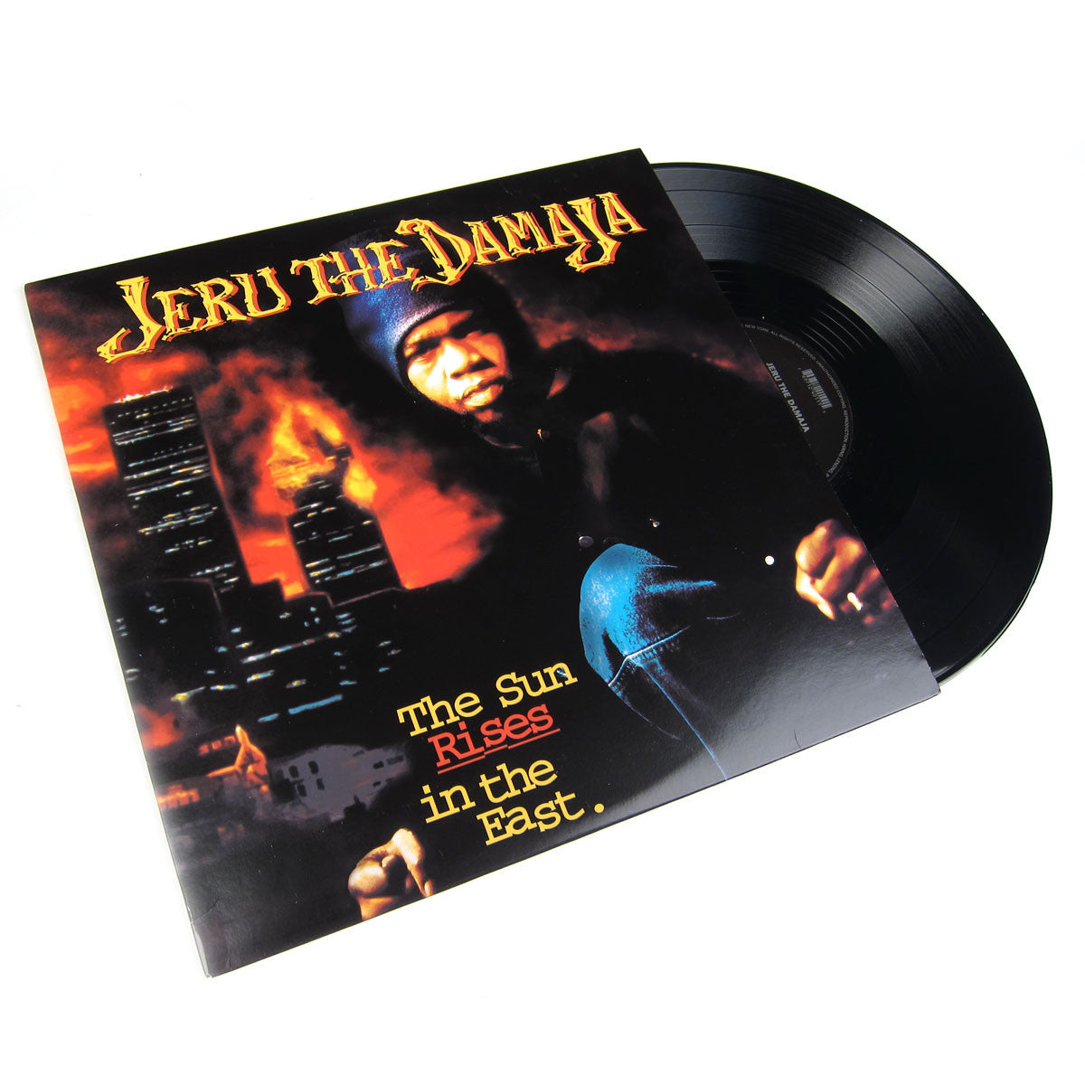 Jeru The Damaja: The Sun Rises In The East Vinyl 2LP