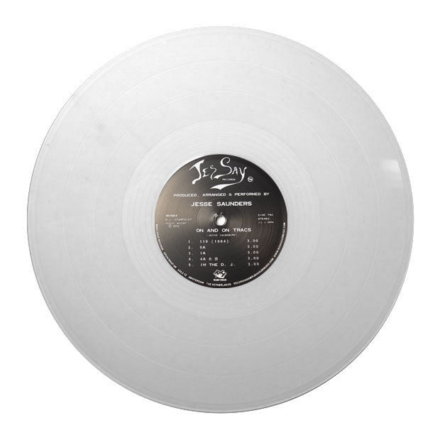 Jesse Saunders: On & On (Clear Vinyl) 12""