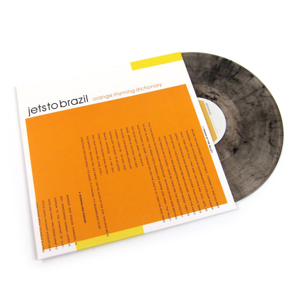 Jets To Brazil: Orange Rhyming Dictionary (Clear / Black Colored Vinyl) Vinyl 2LP
