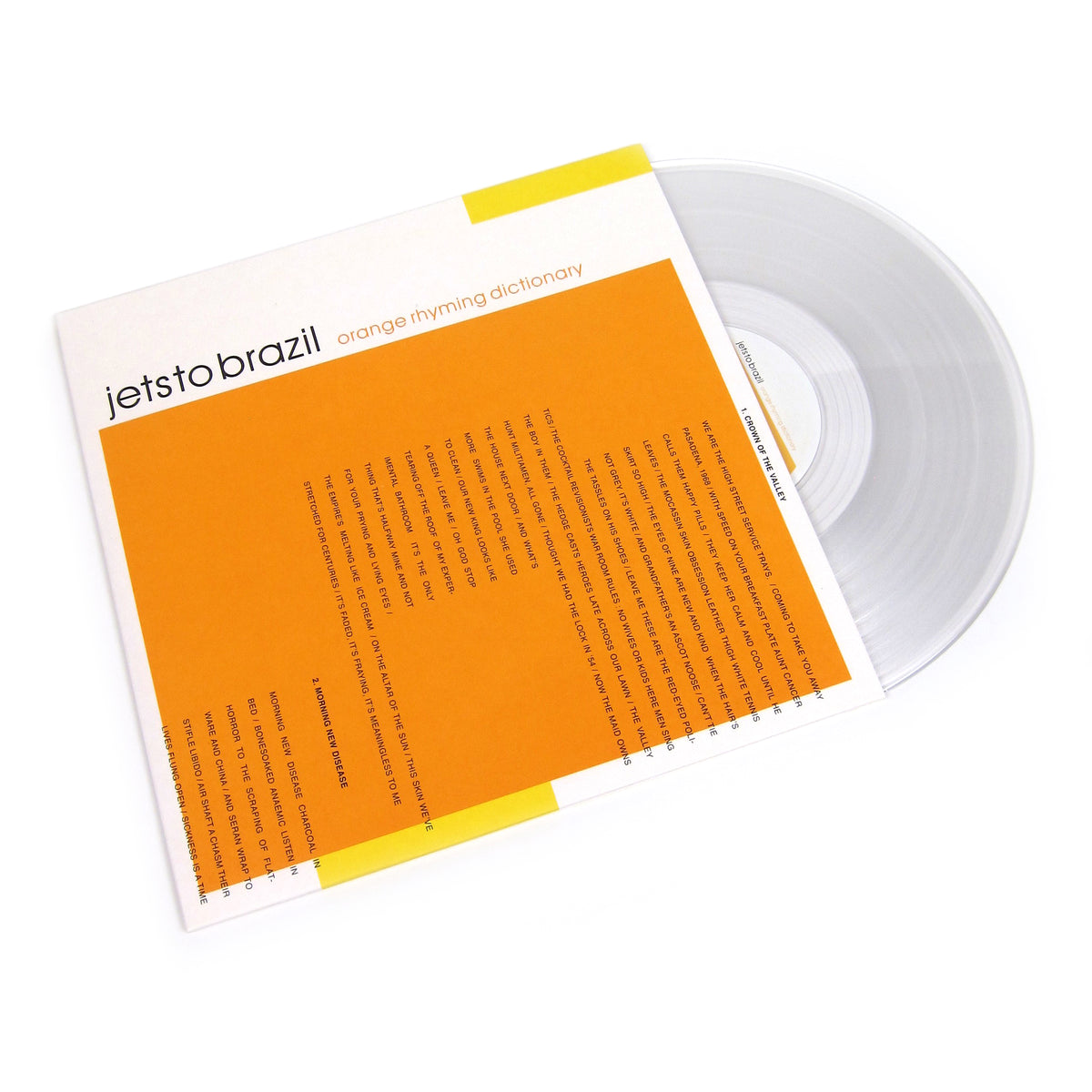 Jets To Brazil: Orange Rhyming Dictionary (Colored Vinyl) Vinyl 2LP