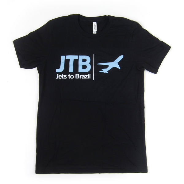 Jets To Brazil: Airplane Shirt - Black