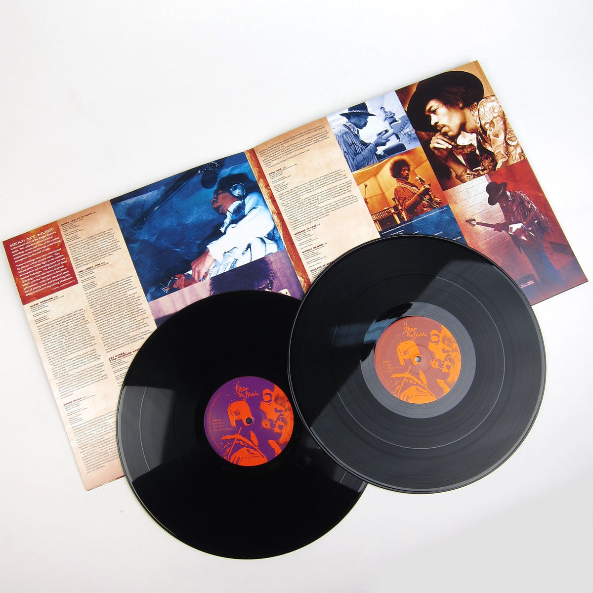 Jimi Hendrix: Hear My Music (200g) Vinyl 2LP (Record Store Day) detail