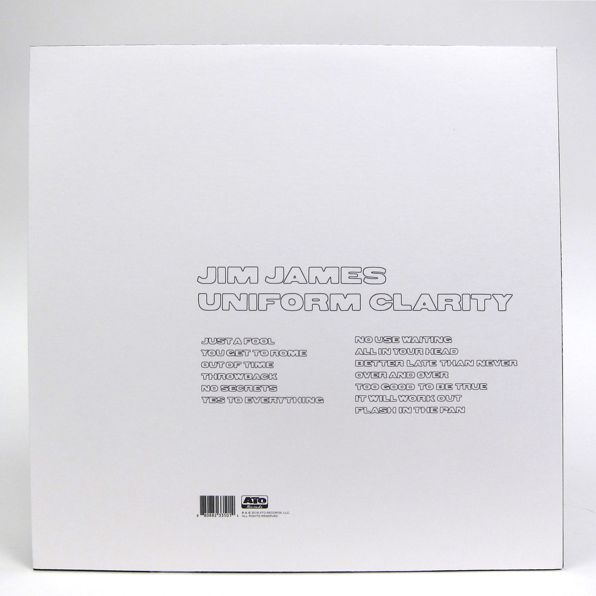 Jim James: Uniform Clarity (Colored Vinyl) Vinyl LP