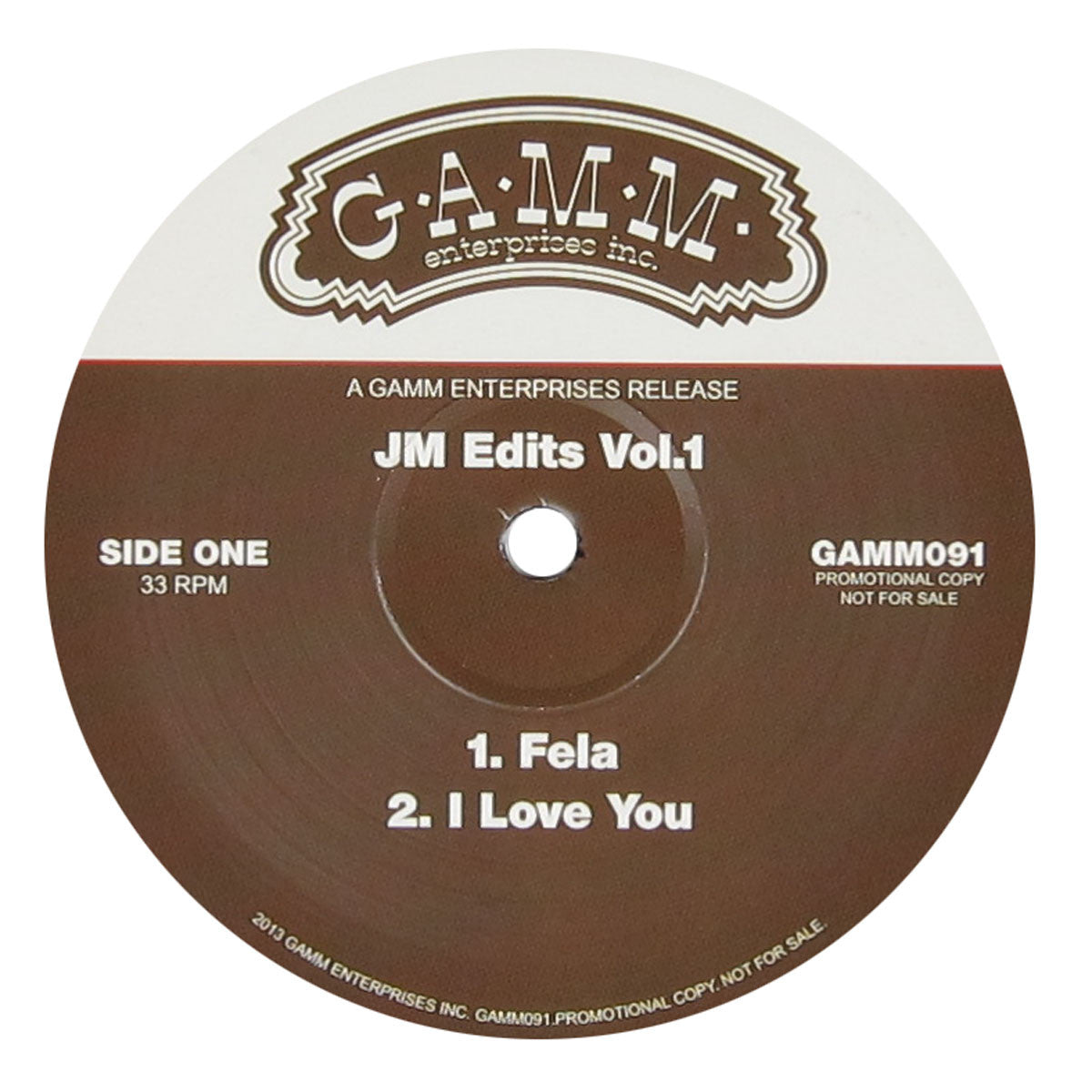 Johnny Miller: JM Edits Vol.1 (Fela, D'Angelo, Weldon Irvine, Bill Withers) Vinyl 12""