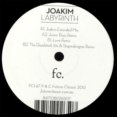 Joakim: Labyrinth (Free MP3) 12""