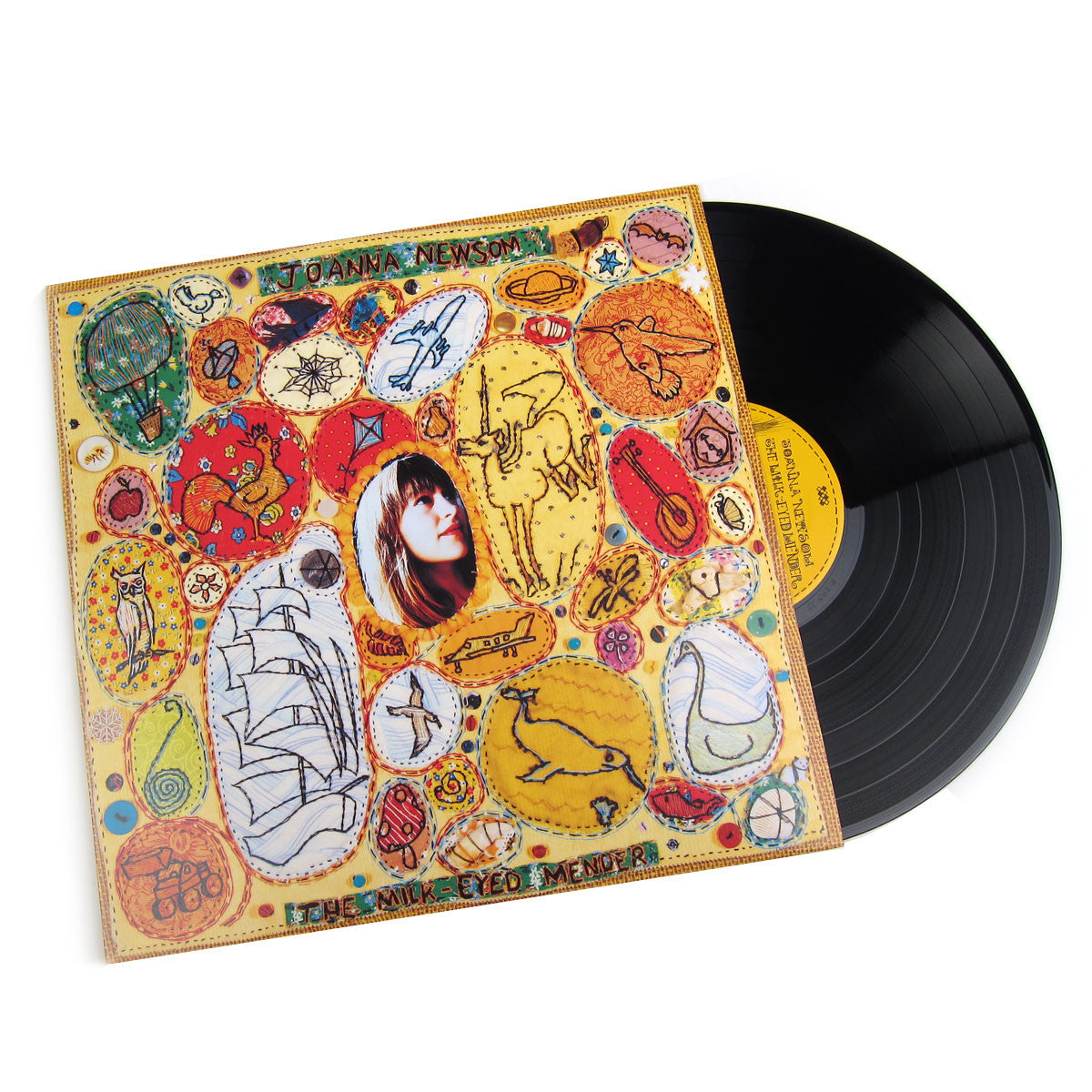 Joanna Newsom: The Milk-Eyed Mender Vinyl LP