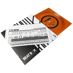Joe Mansfield: Beat Box - A Drum Machine Obsession - TR-909 Book + Flexi-Discs (Record Store Day)