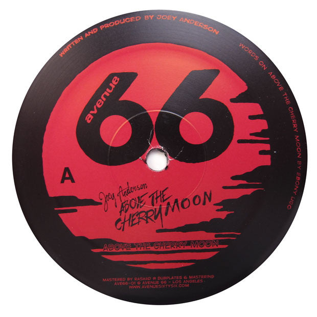 Joey Anderson: Above The Cherry Moon (Vakula) 12""