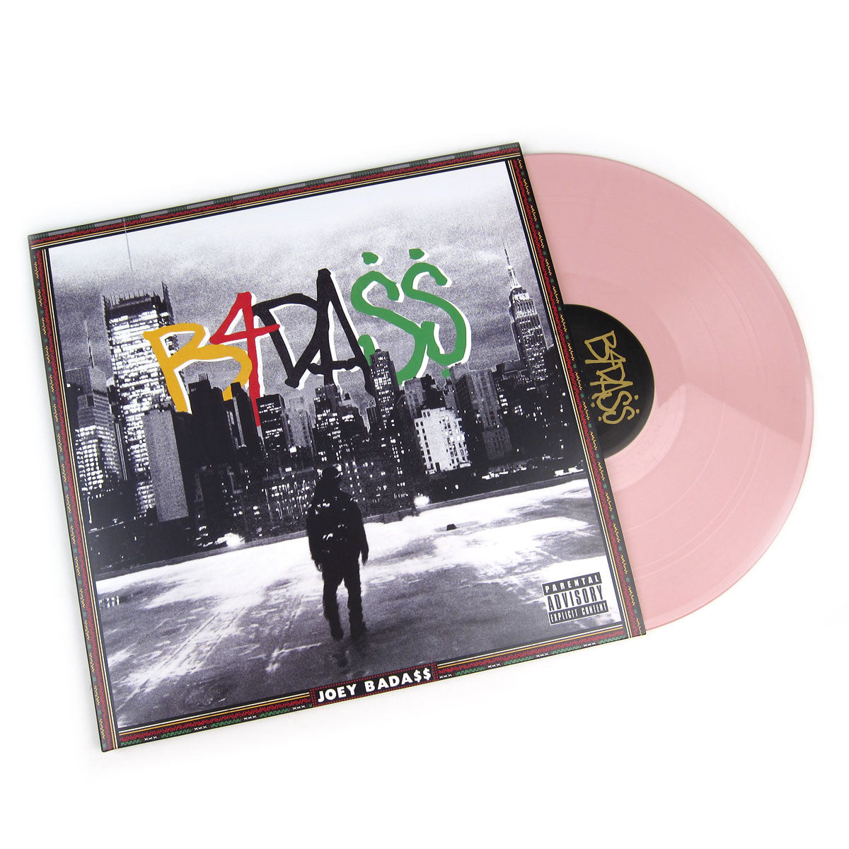 Joey Bada$$: B4.DA.$$ (Colored Vinyl) Pink Vinyl 2LP