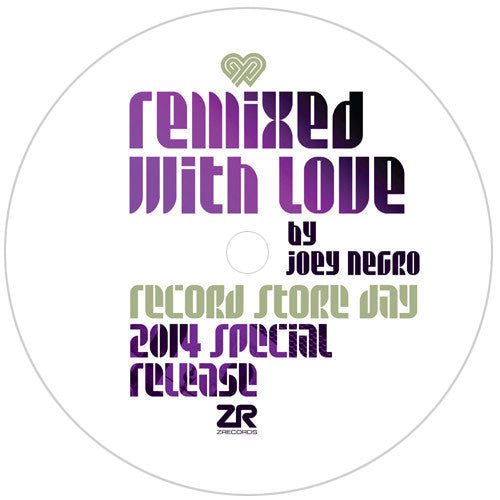 "Joey Negro: Remixed With Love Vinyl 12"" (Record Store Day 2014)"