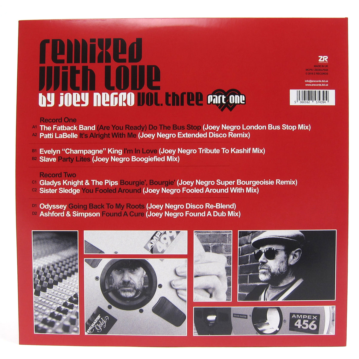 Joey Negro: Remixed With Love Vol.3 Pt.1 Vinyl 2LP