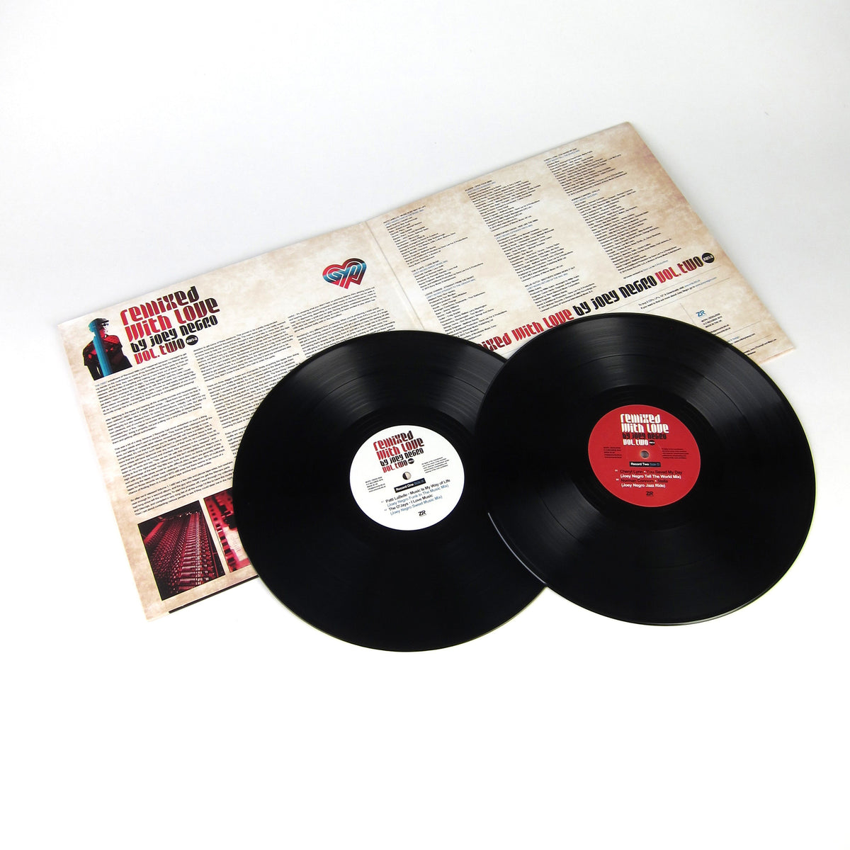 Joey Negro: Remixed With Love Vol.2 Part A Vinyl 2LP