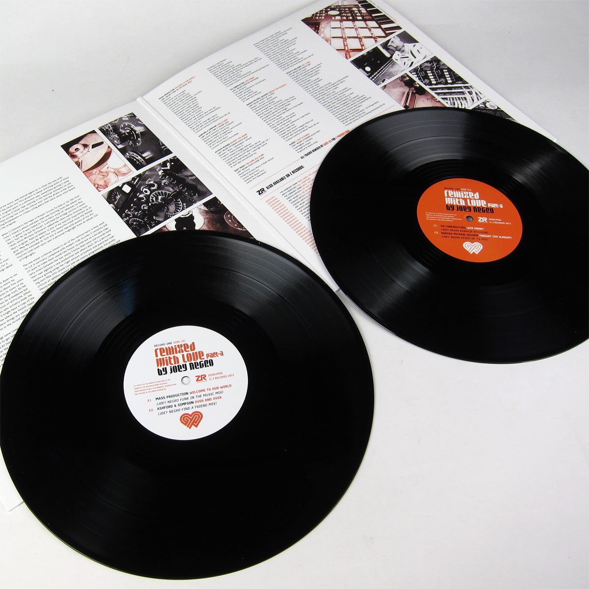 Joey Negro: Remixed With Love Part A 2LP gatefold