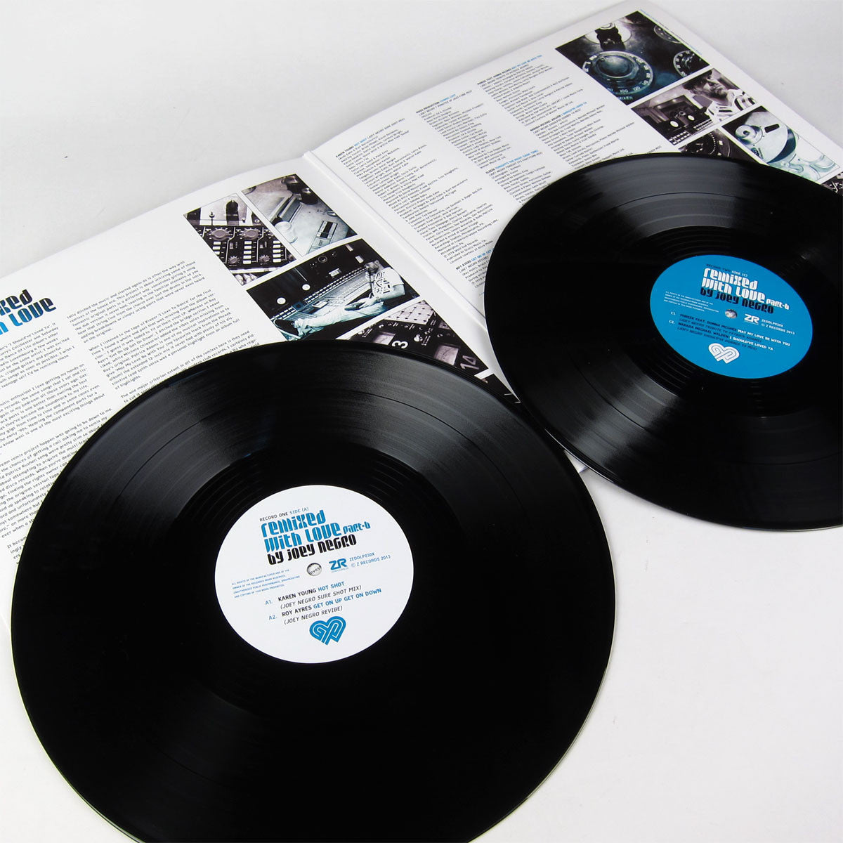 Joey Negro: Remixed With Love Part B 2LP gatefold