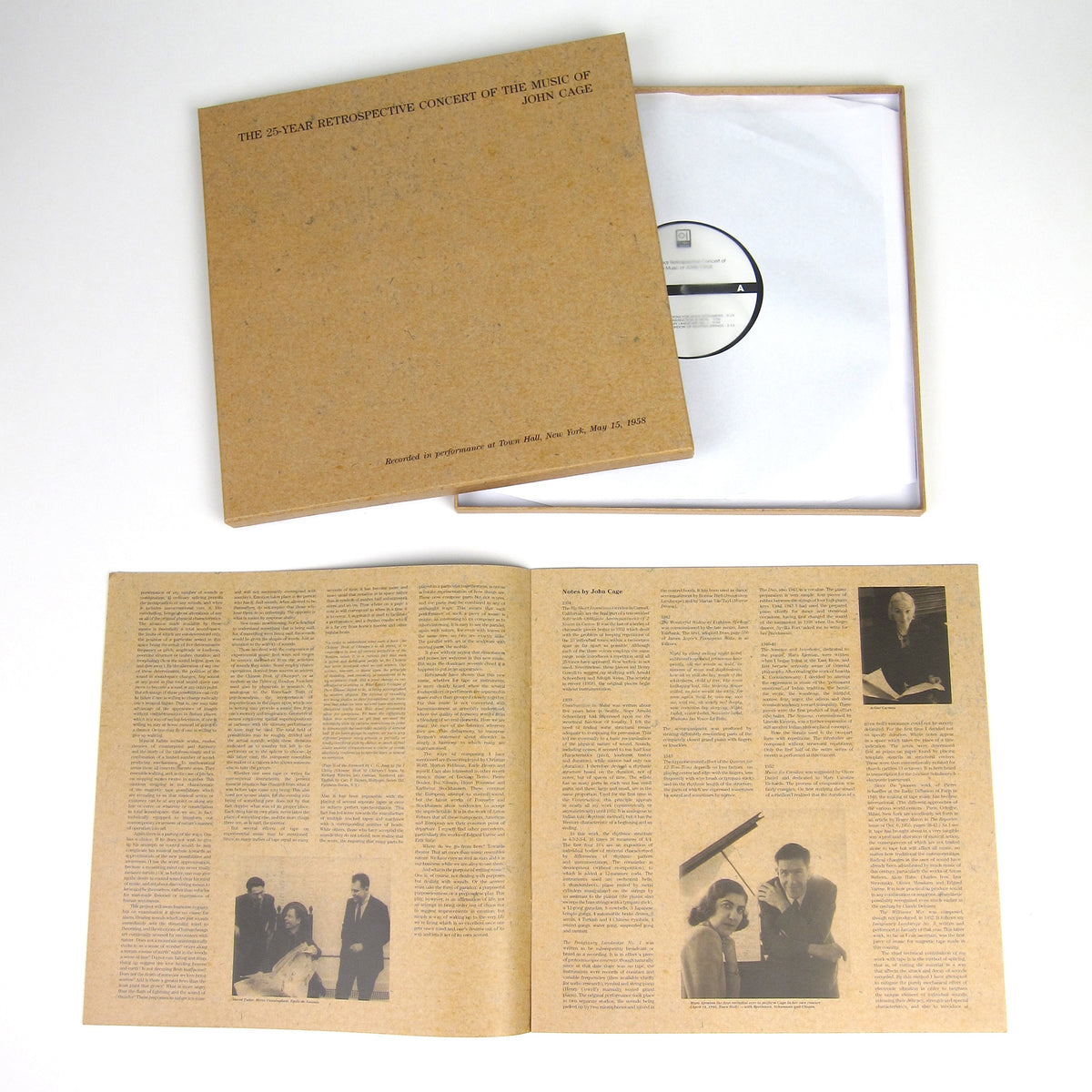 John Cage: The 25-Year Retrospective Concert of the Music of John Cage Vinyl 2LP Boxset