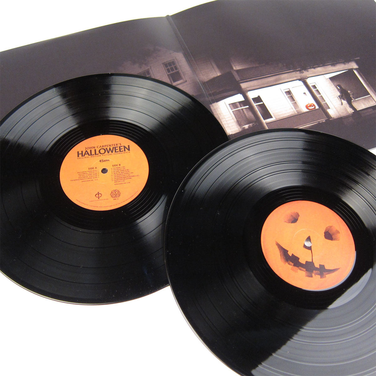Jon Carpenter: Halloween Original Motion Picture Soundtrack (180g) Vinyl 2LP gatefold