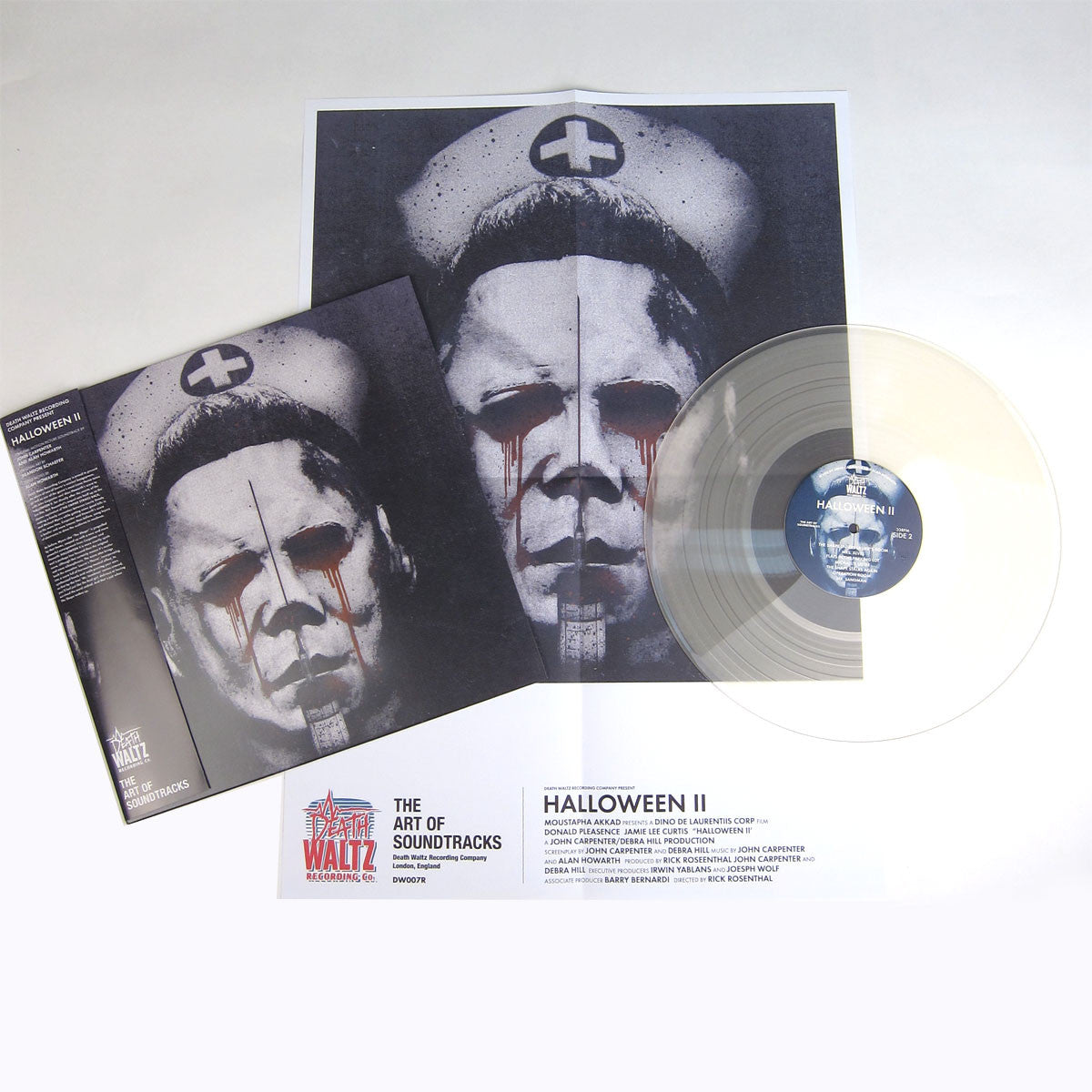 John Carpenter and Alan Howarth: Halloween II OST (Clear Vinyl) Vinyl LP detail