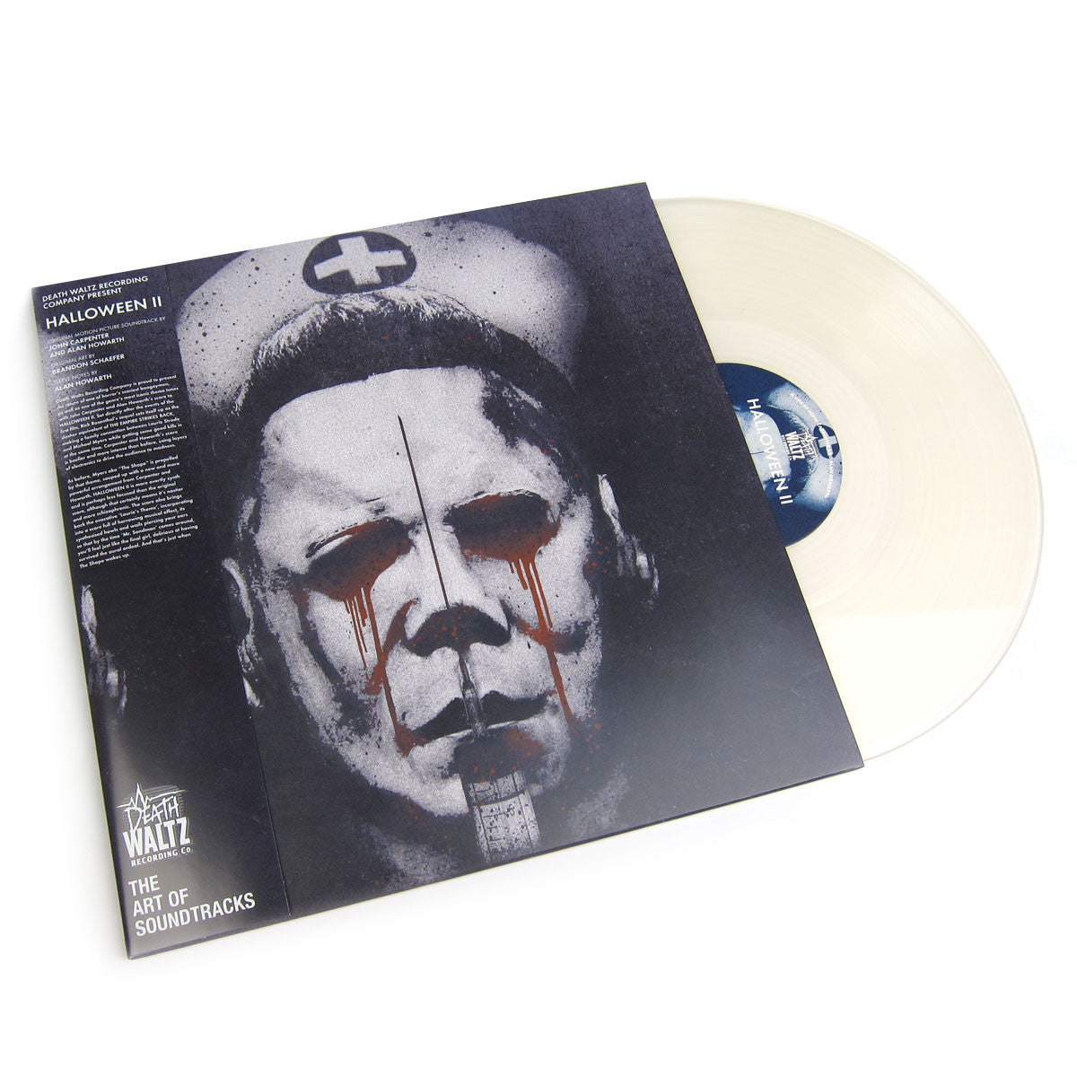 John Carpenter and Alan Howarth: Halloween II OST (Clear Vinyl) Vinyl LP