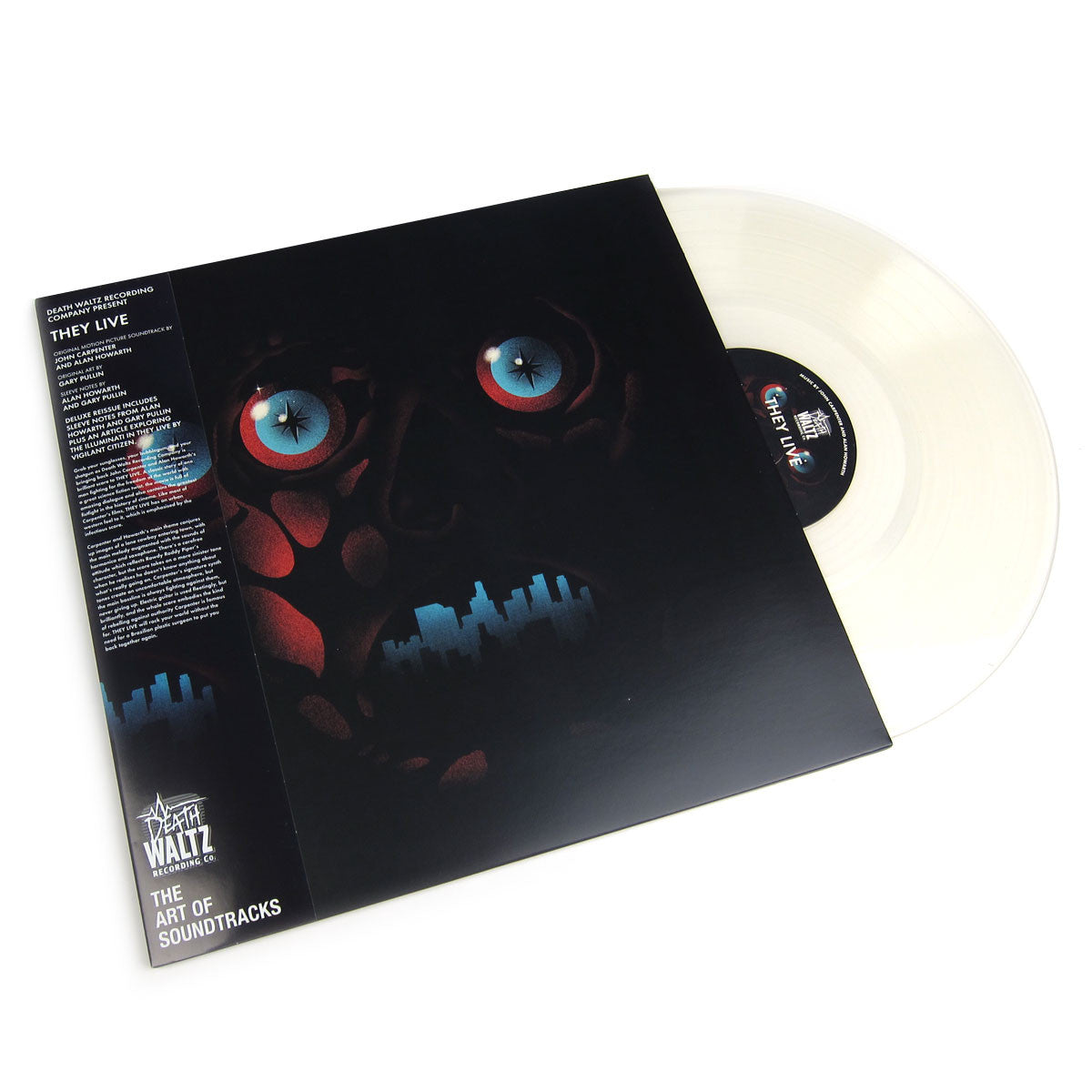 John Carpenter and Alan Howarth: They Live OST (Frosted Clear Vinyl) Vinyl LP