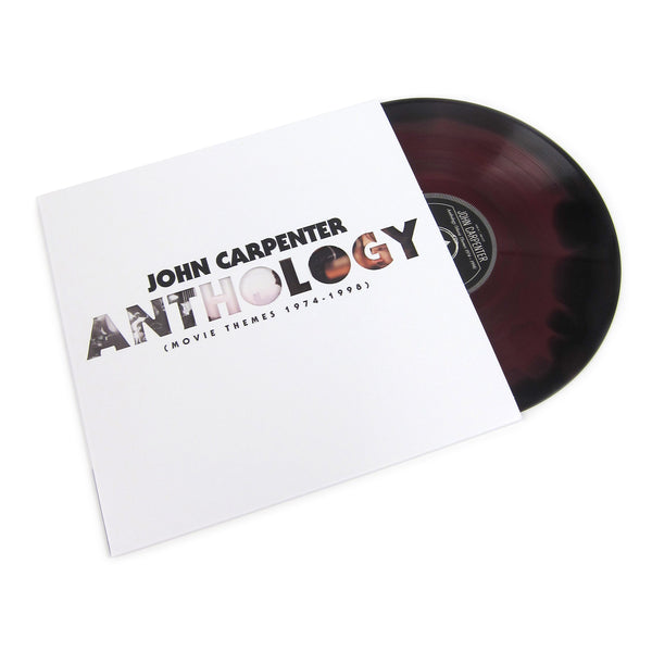 John Carpenter: Anthology - Movie Themes 1974-98 (Red&Black Starburst Colored Vinyl) Vinyl LP