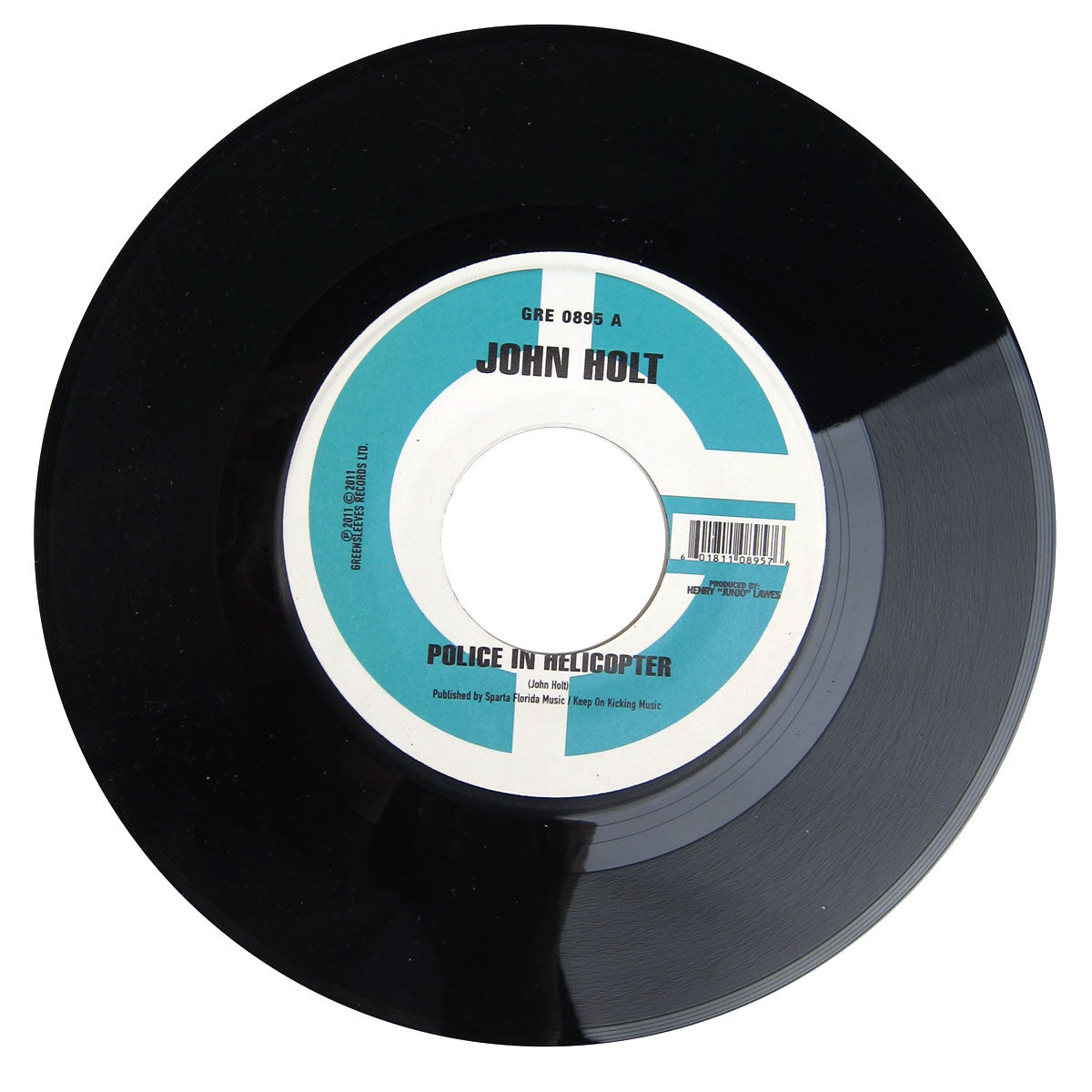 John Holt: Police In Helicopter / Youths Pon The Corner Vinyl 7""