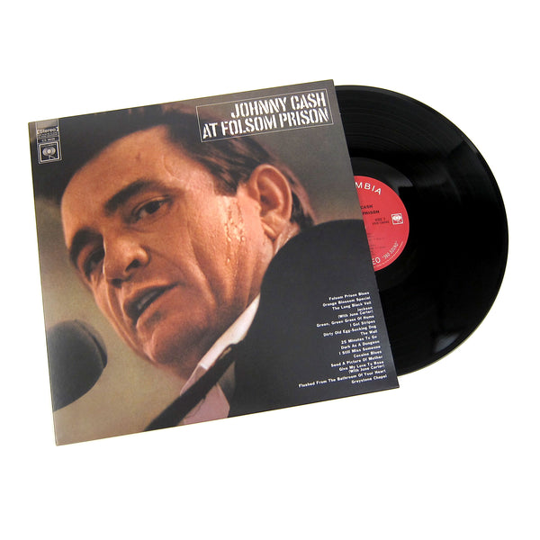 Johnny Cash: At Folsom Prison Vinyl LP
