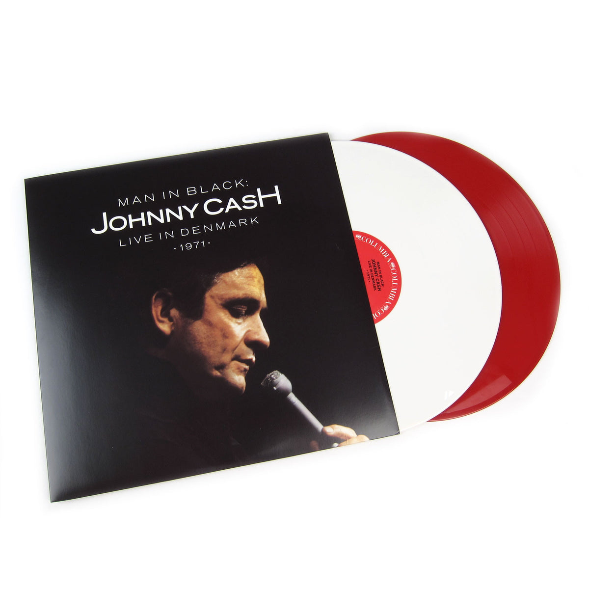 Johnny Cash: Man In Black - Live In Demark 1971 (Colored Vinyl) Vinyl 2LP (Record Store Day)