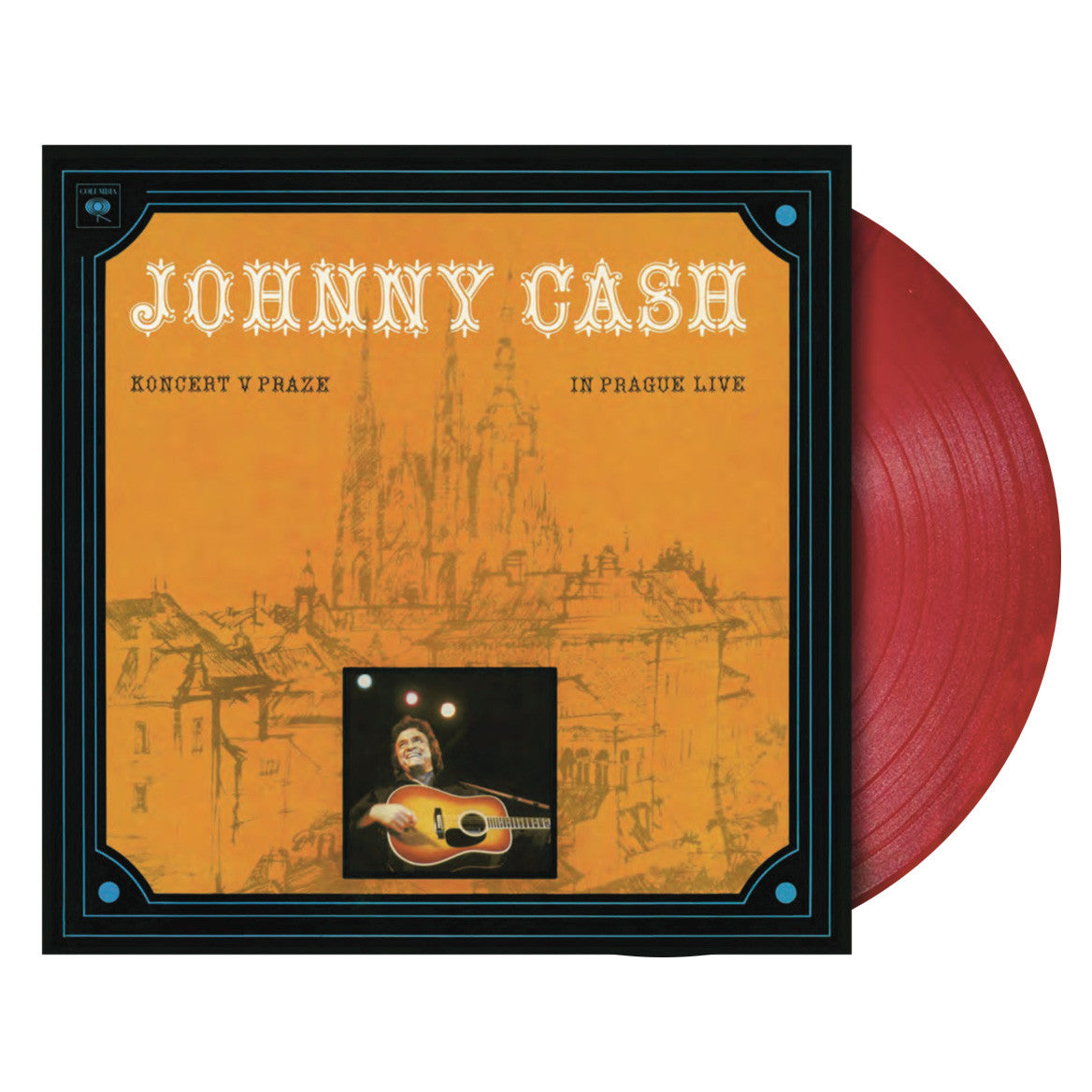 Johnny Cash: Koncert v Praze - In Prague Live Vinyl LP (Record Store Day)