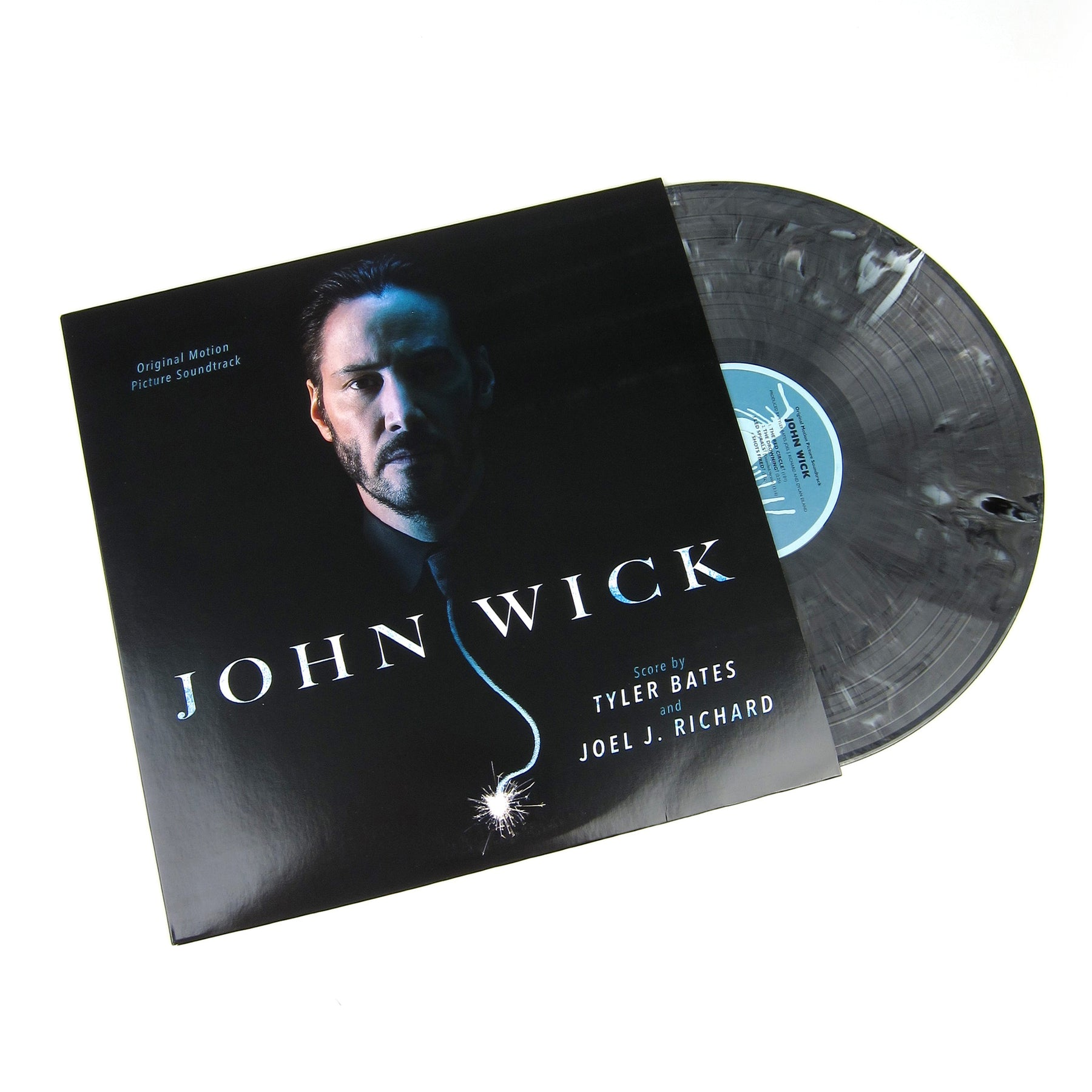 Tyler Bates And Joel J  Richard John Wick Original Motion Picture  Soundtrack (180g, Colored Vinyl) Vinyl LP (Record Store Day)