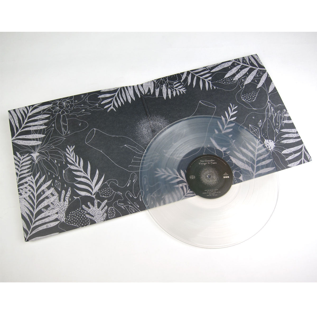 Jose Gonzalez: Vestiges & Claws (Clear Vinyl Indie Exclusive) Vinyl LP detail