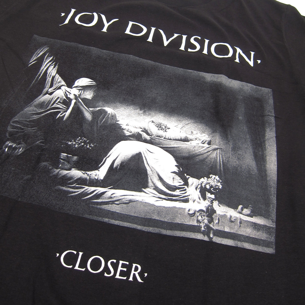 Joy Division: Closer Shirt - Black