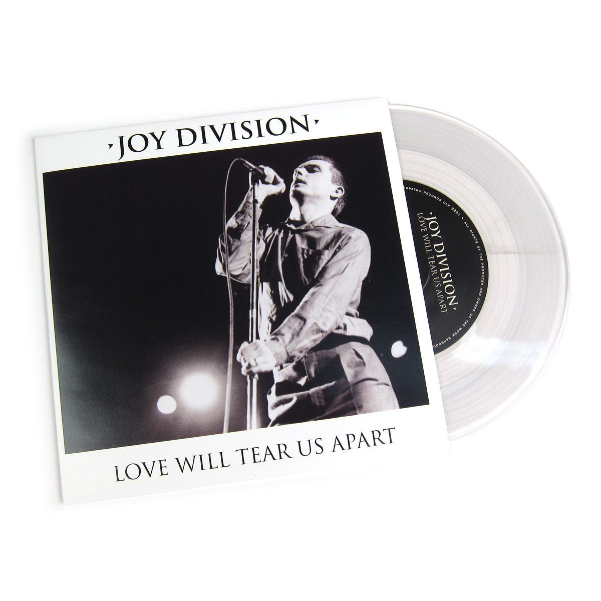 Joy Division: Love Will Tear Us Apart (Colored Vinyl