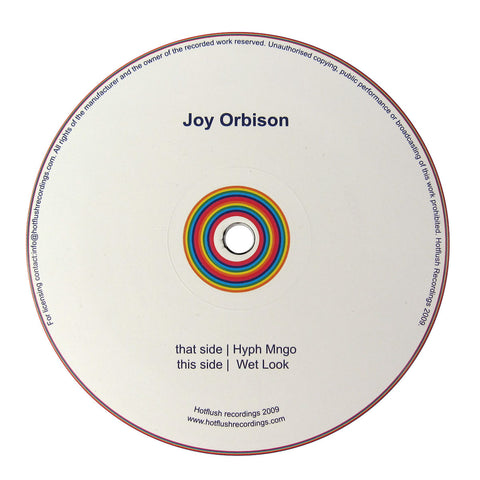 Joy Orbison: Hyph Mngo / Wet Look Vinyl 12""