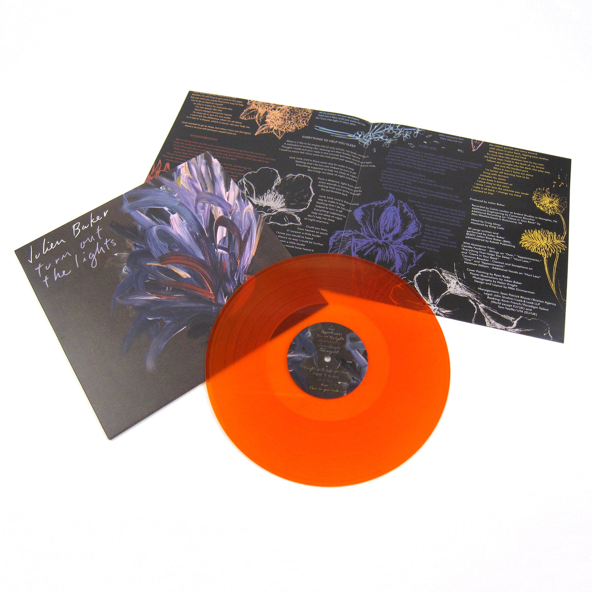 Julien Baker: Turn Out The Lights (Orange Colored Vinyl) Vinyl LP