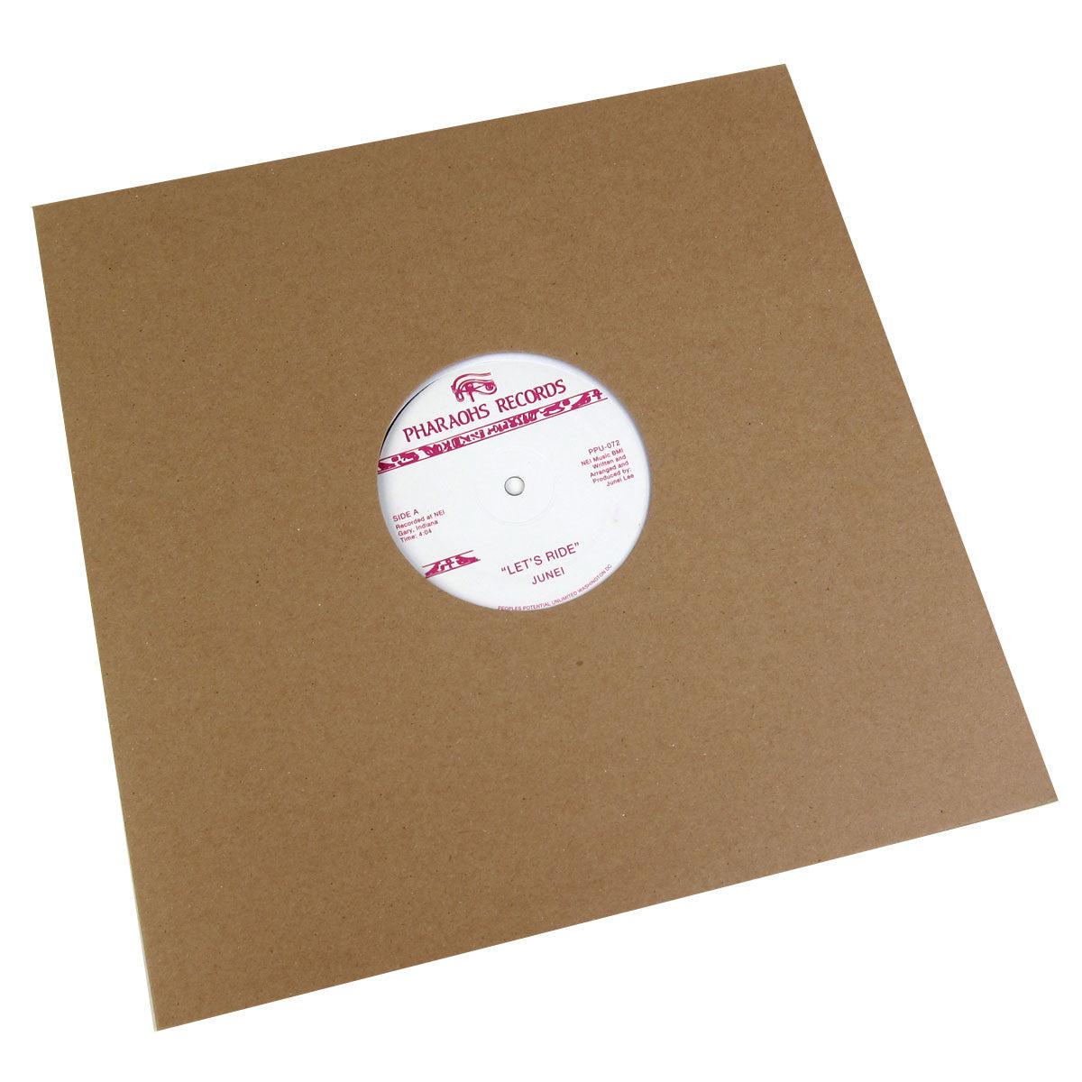 Junei: Let's Ride Vinyl 12""