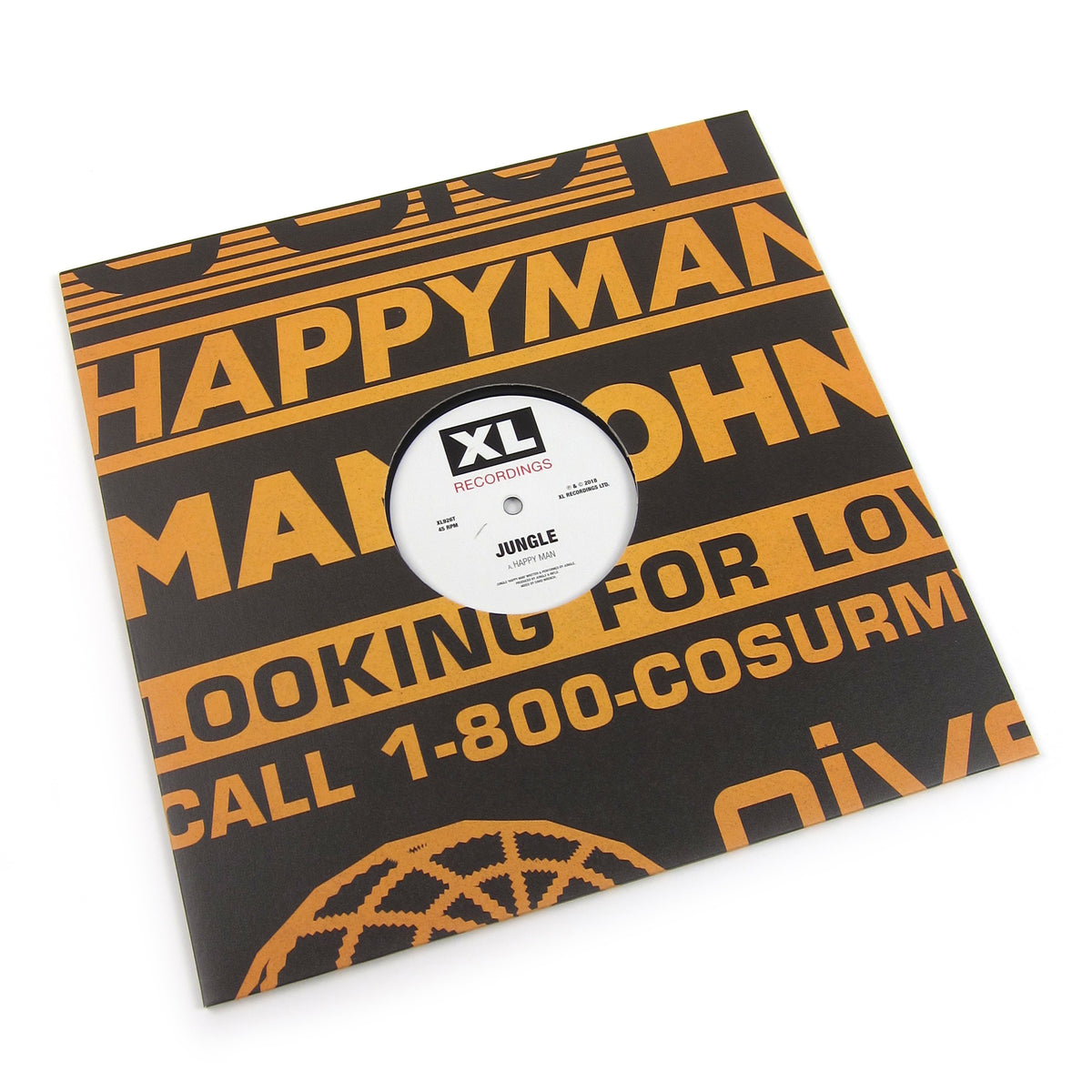 Jungle: Happy Man Vinyl 12""