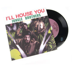 Jungle Brothers: I'll House You / On The Run Vinyl 7""