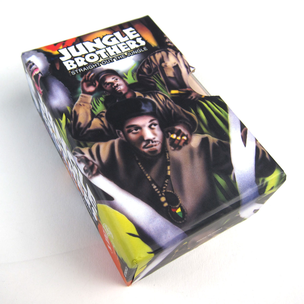 Jungle Brothers: Straight Out The Jungle Deluxe Cassette Boxset